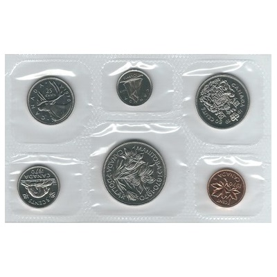 1970 Canadian Mint Uncirculated Set